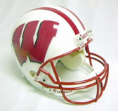 Wisconsin Badgers Fiber Optic Full Size Replica Helmet
