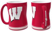 Wisconsin Badgers Coffee Mug - 15oz Sculpted
