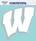 """Wisconsin Badgers 8""""x8"""" Die-Cut Decal"""