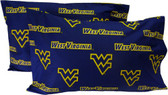 West Virginia Printed Pillow Case - (Set of 2) - Solid
