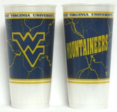 West Virginia Mountaineers Souvenir Cups