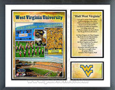 West Virginia Mountaineers Milestones & Memories Framed Photo