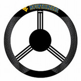 West Virginia Mountaineers Mesh Steering Wheel Cover