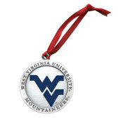 West Virginia Mountaineers Logo Ornament