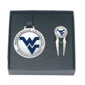 West Virginia Mountaineers Golf Gift Set