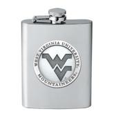 West Virginia Mountaineers Flask