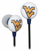 West Virginia Mountaineers Ear Buds