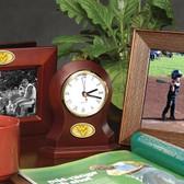 West Virginia Mountaineers Desk Clock