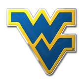 West Virginia Mountaineers Color Auto Emblem - Die Cut