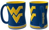 West Virginia Mountaineers Coffee Mug - 15oz Sculpted