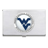 West Virginia Mountaineers Business Card Case Set