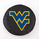 West Virginia Mountaineers Black Tire Cover, Small