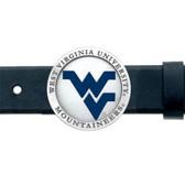 West Virginia Mountaineers Belt Buckle