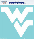 "West Virginia Mountaineers 8""x8"" Die-Cut Decal"