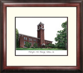 Washington State University Alumnus Framed Lithograph