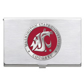 Washington State Cougars Business Card Case Set