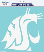 "Washington State Cougars 8""x8"" Die-Cut Decal"
