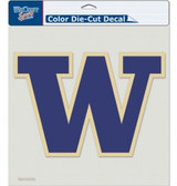 "Washington Huskies Die-Cut Decal - 8""x8"" Color"
