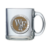 Wake Forest Demon Deacons Logo Clear Coffee Mug Set
