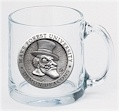Wake Forest Demon Deacons Clear Coffee Mug Set