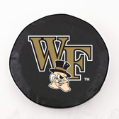 Wake Forest Demon Deacons Black Tire Cover, Large