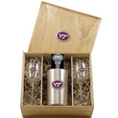 Virginia Tech Hokies Wine Set