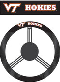 Virginia Tech Hokies Poly-Suede Steering Wheel Cover