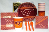 Virginia Tech Hokies Party Supplies Pack #1