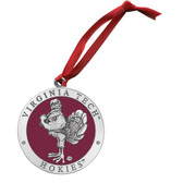 Virginia Tech Hokies Mascot Logo Ornament