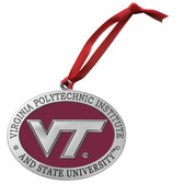 Virginia Tech Hokies Logo Ornament