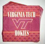 Virginia Tech Hokies Lunch Napkins