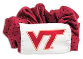 Virginia Tech Hokies Hair Twist Ponytail Holder