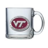 Virginia Tech Hokies Clear Coffee Mug Set CM10195ERCL