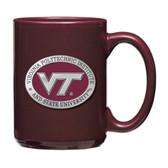 Virginia Tech Hokies Burgundy Coffee Mug Set