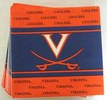 Virginia Cavaliers Lunch Napkins