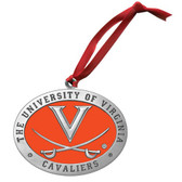 Virginia Cavaliers Logo Ornament