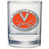 Virginia Cavaliers Double Old Fashioned Glass Set