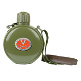 Virginia Cavaliers Colored Logo Canteen with Compass