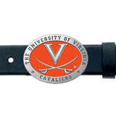 Virginia Cavaliers Belt Buckle