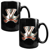 Virginia Cavaliers 2pc Coffee Mug Set
