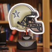 Vanderbilt Commodores Neon Helmet Desk Lamp