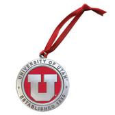 Utah Utes Logo Ornament