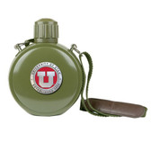 Utah Utes Colored Logo Canteen with Compass