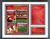 USC Trojans Milestones & Memories Framed Photo