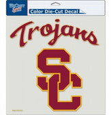 "USC Trojans Die-Cut Decal - 8""x8"" Color"