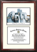 University oMinnesota, Twin Cities Scholar Framed Lithograph with Diploma