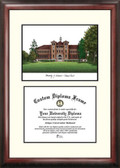 University of Wisconsin, Stevens Point Scholar Framed Lithograph with Diploma