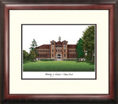 University of Wisconsin, Stevens Point Alumnus Framed Lithograph