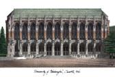University of Washington Lithograph