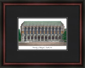University of Washington Academic Framed Lithograph